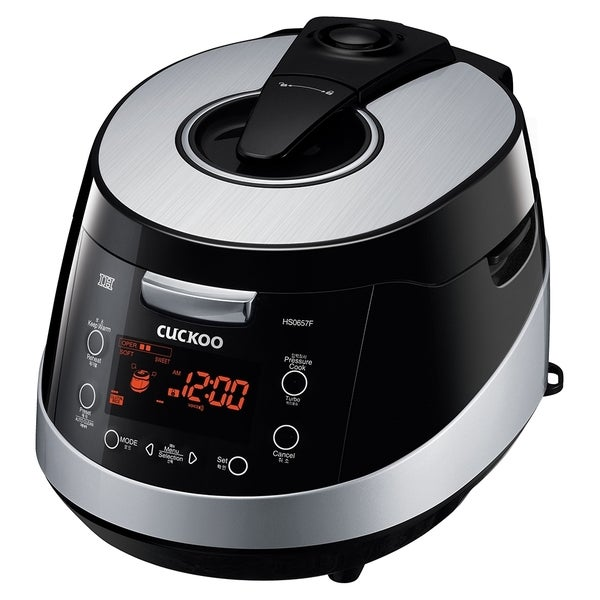 Cuckoo CRP-HS0657F Smart IH 6 Cups Electric Pressure Rice Cooker 18358529