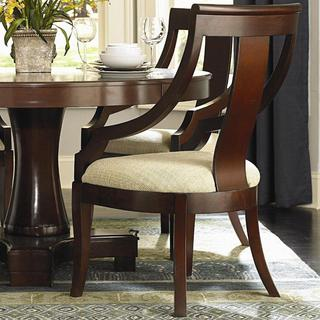 Crestwood Cherry-finish Wood Arm Chair