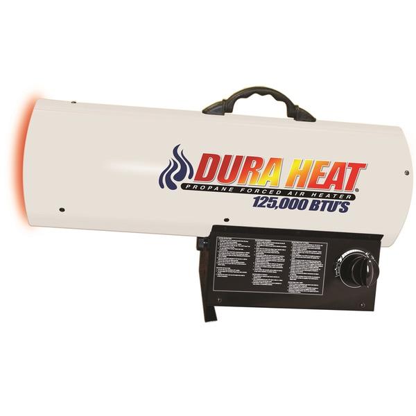 DuraHeat LP Forced Air Heater White 18359726