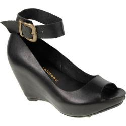 Women's Chinese Laundry Sneek Peek Black Leather