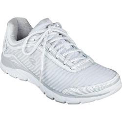 Women's Easy Spirit Ignite Walking Sneaker White Multi Leather