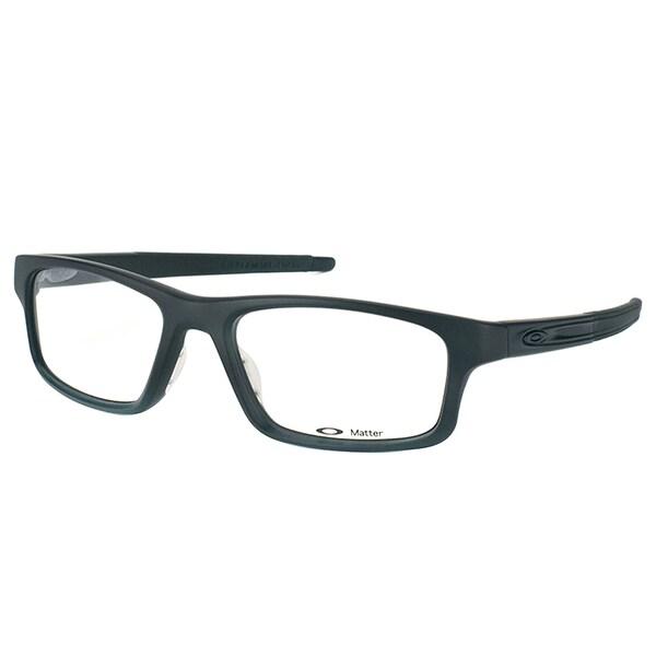 Oakley Crosslink Pitch OX8037-0152 Satin Black Rectangle Sport 52mm Eyeglasses