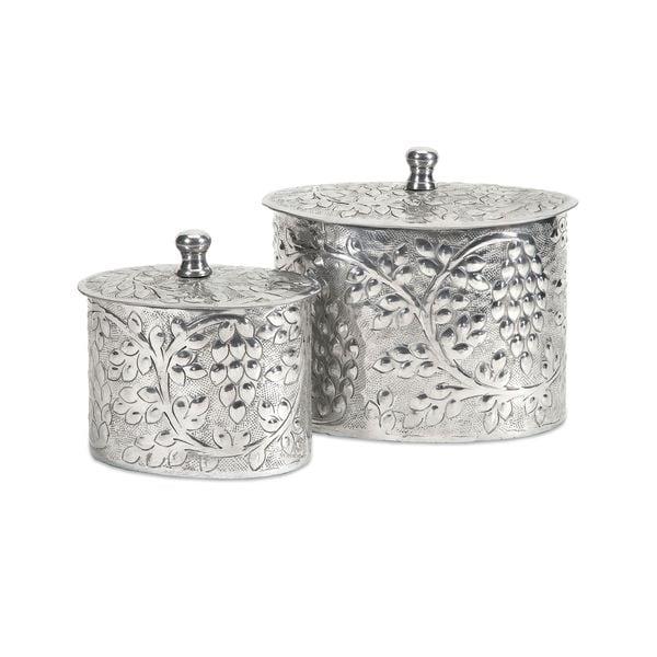 Burgess Aluminum Boxes (Set of 2)