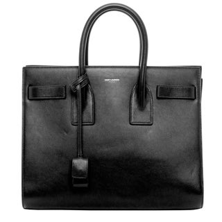 Saint Laurent Classic Small Black Sac de Jour Bag