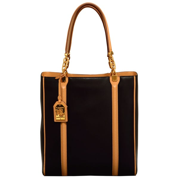Ralph Lauren Adlington Black Tote Bag