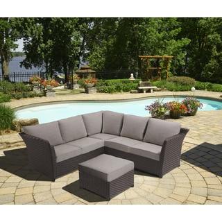 OVE Decors Clara 3-piece Sectional Outdoor Seating Set