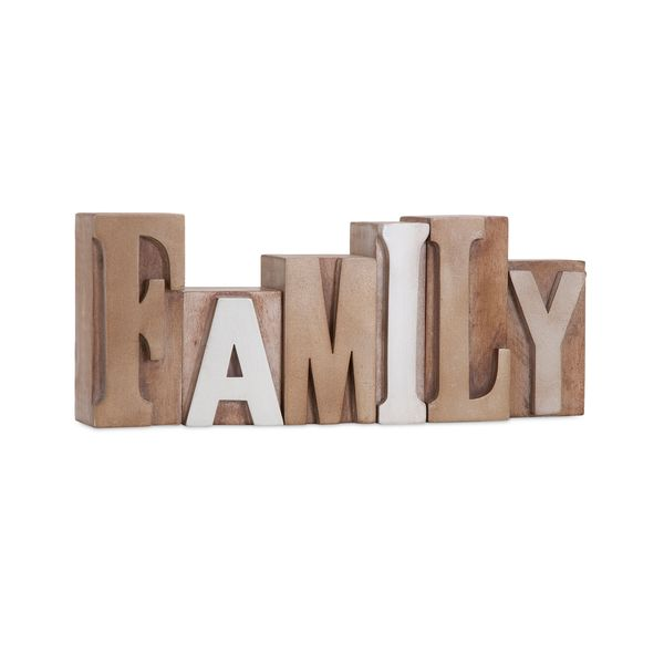 Letterpress Word - Family