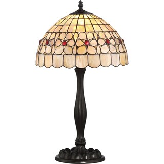 Quoizel Sea Shell Collection Floret Table Lamp