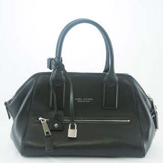Marc Jacobs Black Small Smooth Incognito Tote
