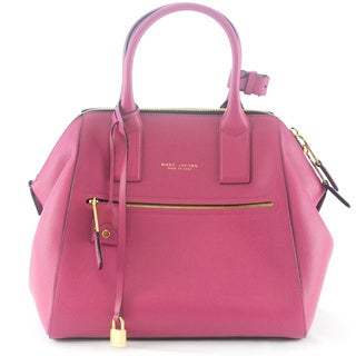 Marc Jacobs Pink Textured Large Incognito Tote