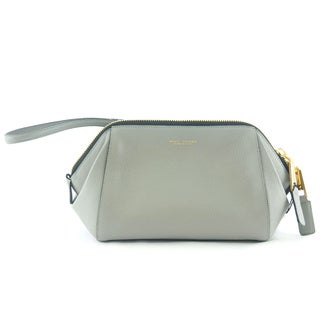 Marc Jacobs Grey Leather Incognito Doctor Pouch