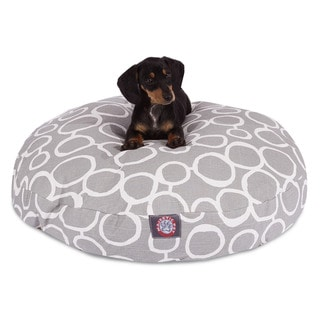 Fusion Round Dog Bed by Majestic Pet