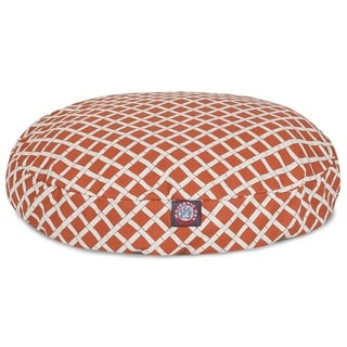 Majestic Pet Bamboo Outdoor/ Indoor Round Large/ Extra Large Dog Bed with Removable Washable Cover