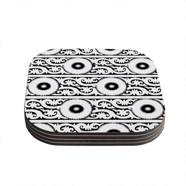 Kess InHouse Laura Nicholson 'Samarkand' Coasters (Set of 4)