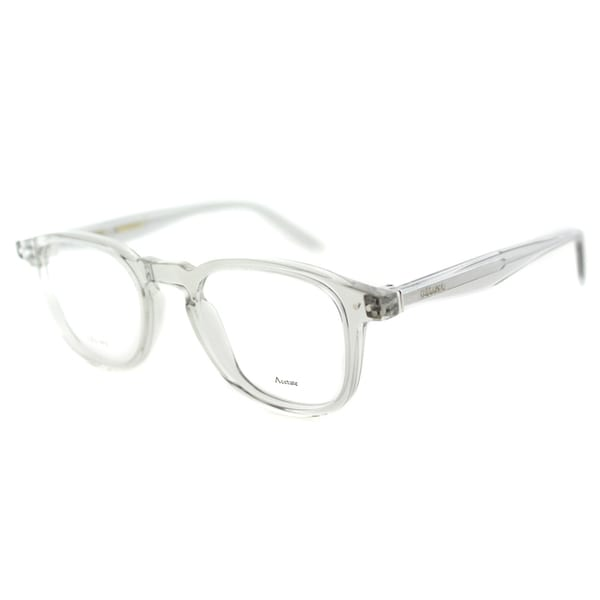 Celine CL 41404 RDN Grey Transparent Plastic 47mm Square Eyeglasses