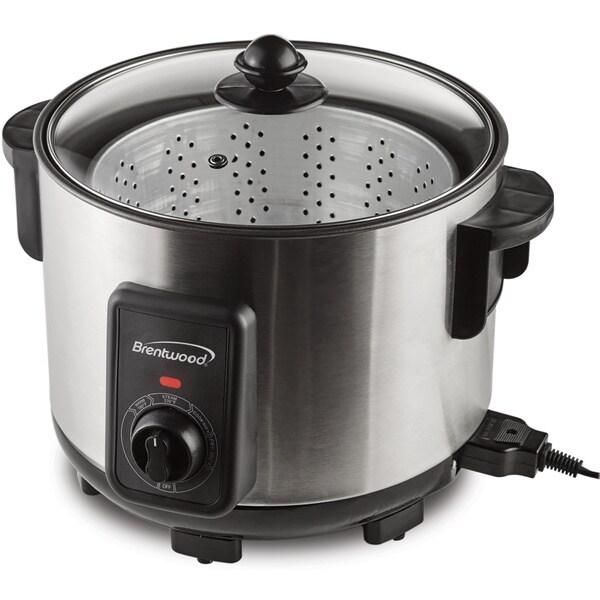 Brentwood 5 Qt. Deep Fryer Multi-Cooker