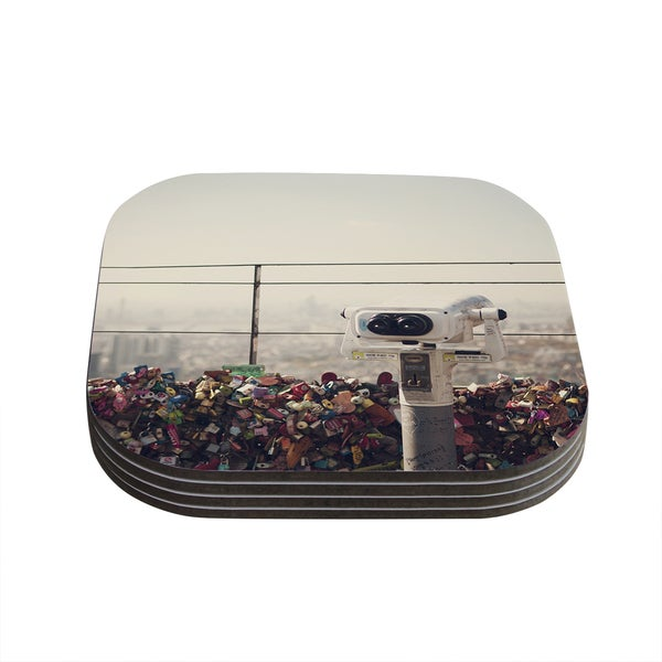 Kess InHouse Catherine McDonald 'The View Seoul' Coasters (Set of 4)