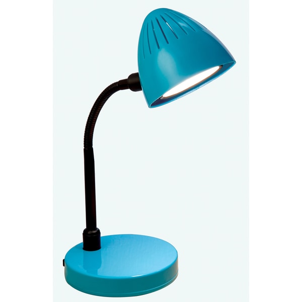 Normande Lighting GP5-3291 3-watt Blue LED Desk Lamp