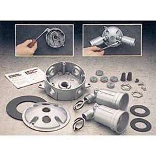"""Bell Outdoor 5829-5 4"""" Gray Round Light Kits"""
