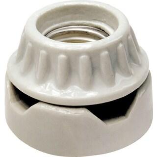 Leviton 001-9880 Lampholder Porcelain Cleat Type