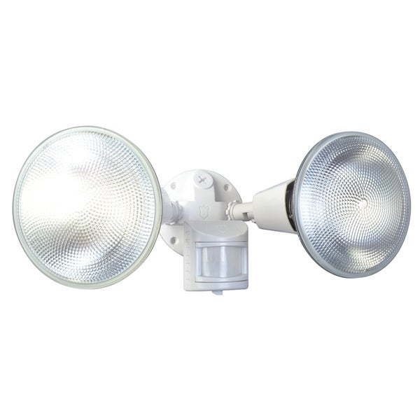 Designers Edge L5999WH White Motion Floodlight