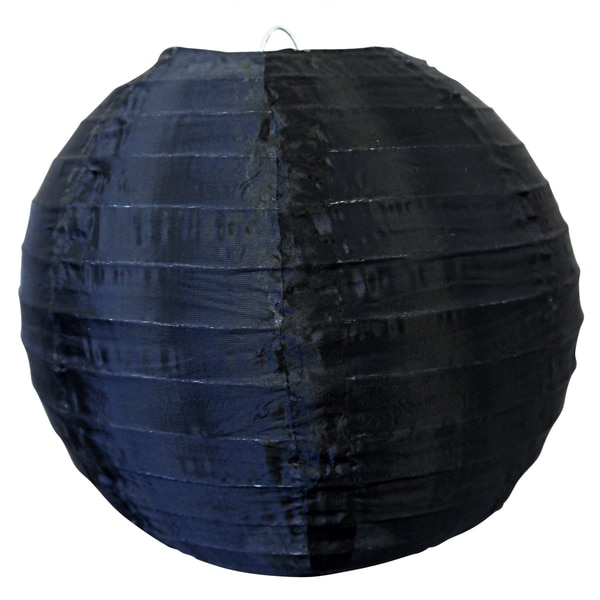 Asian Import Store Distribution 14NYL-NK 14-inch Black Nylon Lantern