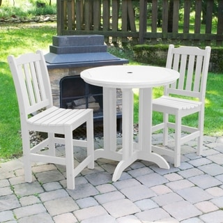 Lehigh 3-piece Round Counter Dining Set