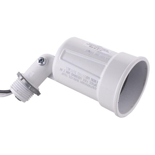Raco 5606-1 White Die Cast Lampholder