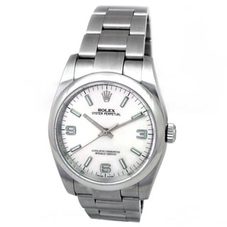 Rolex Stainless Steel Oyster Perpetual Watch Pre-owned