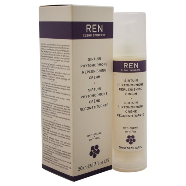REN Sirtuin Phytohormone Replenishing 1.7-ounce Anti-Ageing Cream