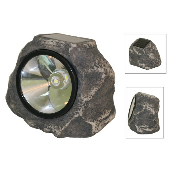 Smart Solar 3345WRM1 Solar Rock Light