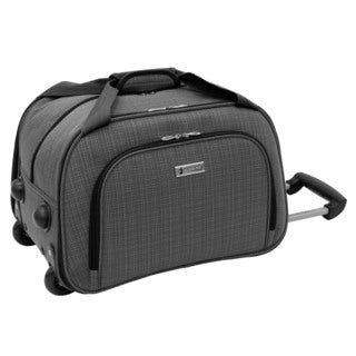 London Fog Chatham Collection 19-inch Grey Rolling Club Bag
