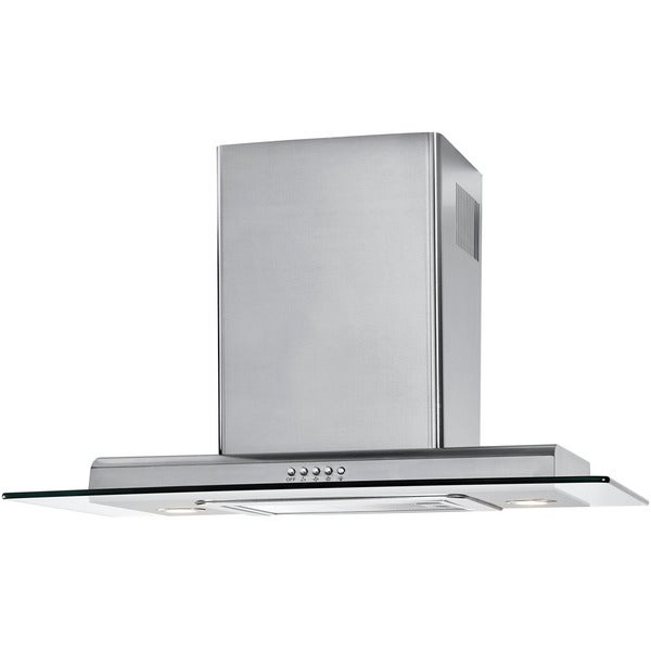 Haier Stainless Steel 30-inch 3-speed Push Button Chimney Vent Hood