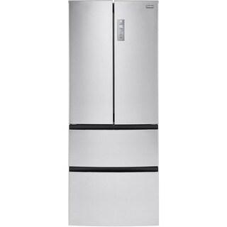 Haier 28-inch Wide 14.97-cubic foot 4-door French Door Bottom Mount Refrigerator