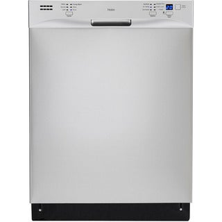Haier Stainless Steel 24-inch Energy Star 51dBa Built-in Dishwasher