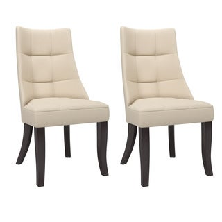 CorLiving Antonio Tufted Dining Accent Chairs (Set of 2)