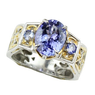 One-of-a-kind Michael Valitutti Tanzanite Ring