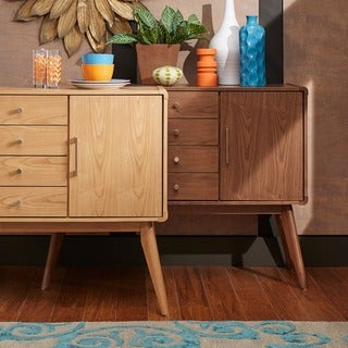 MID-CENTURY LIVING Penelope Danish Modern Buffet Console Table