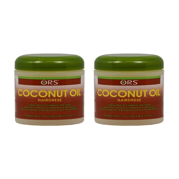 5.5-ounce Organic Root Simulator Coconut Oil Hairdress (Pack of 2)
