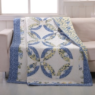Forever Authentic Patchwork Throw Quilt