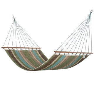 Coastal Stripe Quilted Hammock