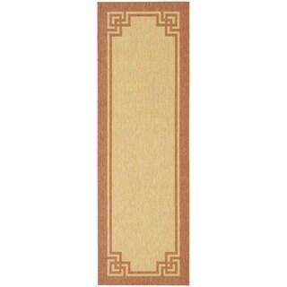 Safavieh Martha Stewart Collection Beige/ Terracotta Rug (2' 7 x 5')
