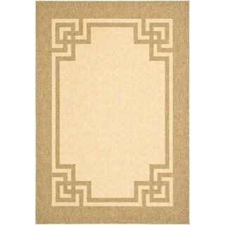 Safavieh Martha Stewart Collection Beige/ Dark Beig Rug (2' 7 x 5')