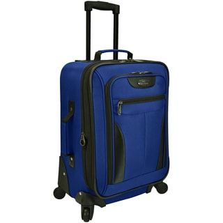 Traveler's Choice U.S. Traveler Charleville 20-inch Expandable Carry-on Spinner Suitcase