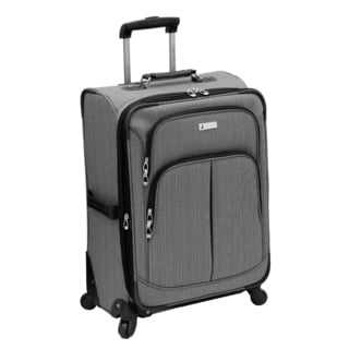 London Fog Chatham Collection 24-inch Expandable Spinner Suitcase
