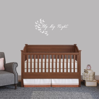 Fly By Night Wall Decal (36-inch wide x 18-inch tall)