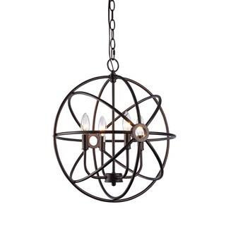 Chloe Transitional 4-light Oil Rubbed Bronze Pendant