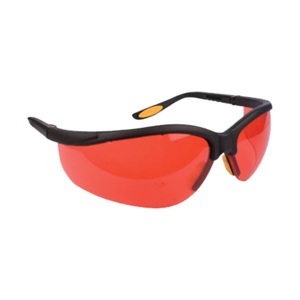 FastCap CatEyes Red-lens No-magnification Safety Glasses 18605006
