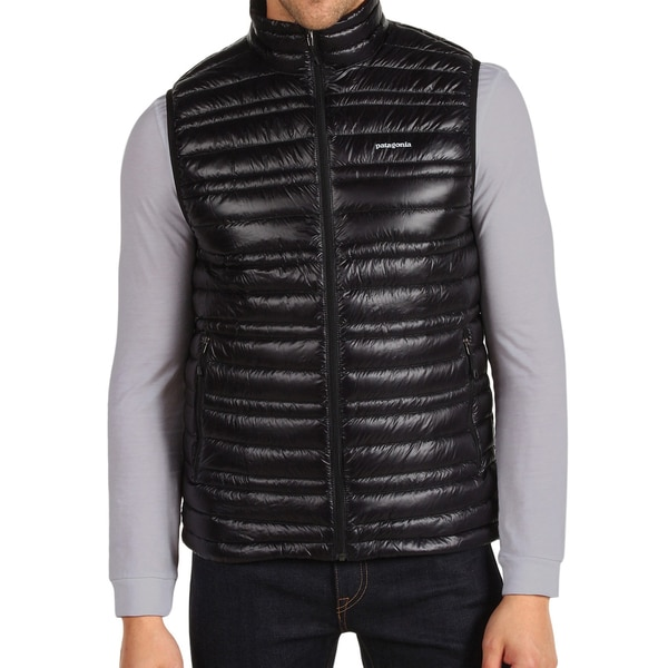 Patagonia Men's Black Down Water-repellent Vest