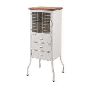 Zane 3-Drawer Metal Cabinet